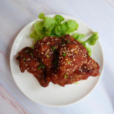 Fried Chicken with Korean Sauce