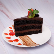 Double Chocolate Mousse Cake (New)