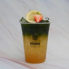 ชาเขียวน้ำผึ้งมะนาวโซดา